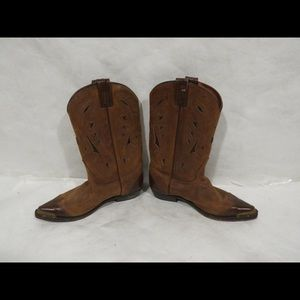 Womans Cowboy Boots (made In Canada) Size: 8 1/2